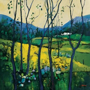 Springtime, Galloway a limited edition print by Davy Brown
