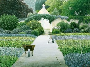 Le Manoir aux Quat'Saisons a limited edition print by Michael Kidd