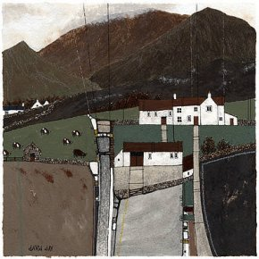 Brecon Farmhouse a limited edition print by David Day