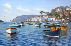Salcombe Harbour a limited edition print by Brett Humphries