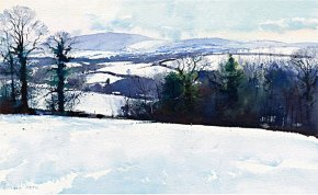 White Vista a limited edition print by Richard Thorn