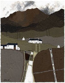 Black Mountains I a limited edition print by David Day