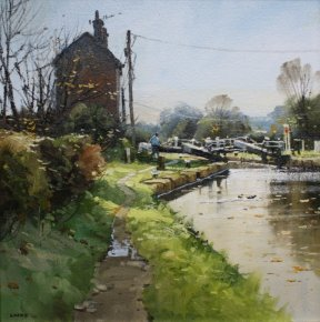 Top Lock Morning a limited edition print by John Lines