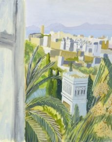 View from Matisse's Window - Tangiers a limited edition print by Paul Manousso