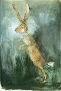 Limited edition prints and art prints by Madeleine Floyd - March Hare