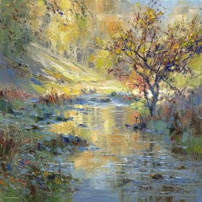 Autumn Sunlight a limited edition print by Rex Preston