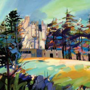 Braemar Castle a limited edition print by Pam Carter
