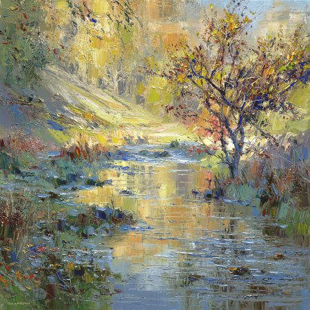Buy Autumn Sunlight - art print by artist Rex Preston