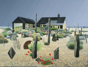 Derek Jarmans Garden a limited edition print by Michael Kidd