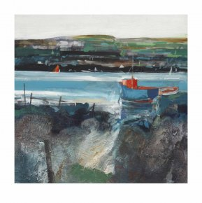 Rocky Berth a limited edition print by Dugald Findlay