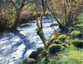 Spring River a limited edition print by Richard Thorn