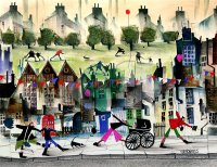 Limited edition prints by artist Sue Howells