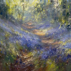 Pathway through the WoodsLimited edition prints and art prints by Rex Preston