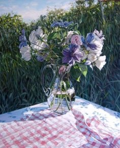 Summer Flowers a limited edition print by Jim Farrant