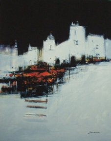Morning a limited edition print by James Somerville