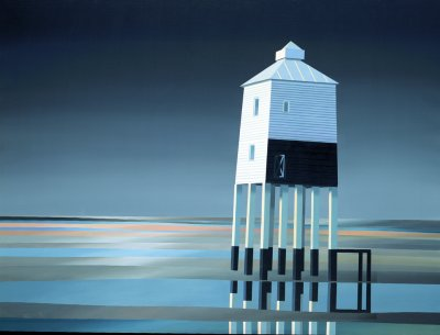 Burnham on Sea - Limited edition print and art print by Michael Kidd