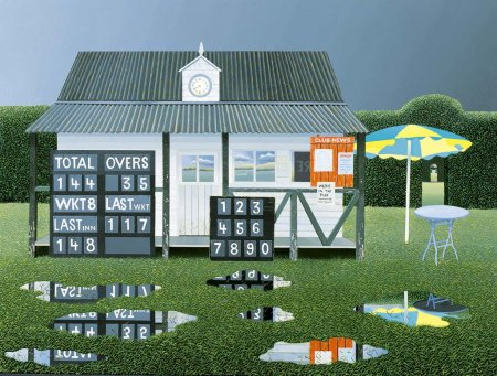 Buy Rain Stops Play - art print by artist Michael Kidd