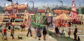Fairground Attraction a limited edition print by Allen Tortice