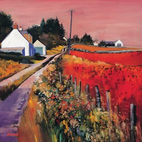 Farm Tracks a limited edition print by Davy Brown