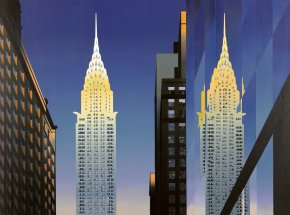 The Chrysler Building a limited edition print by Michael Kidd