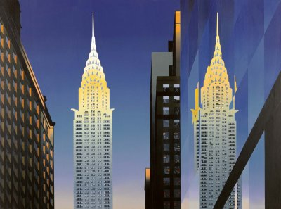 The Chrysler Building - Limited edition print and art print by Michael Kidd