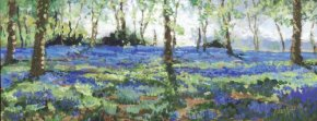 Bluebell Heaven a limited edition print by Timmy Mallett