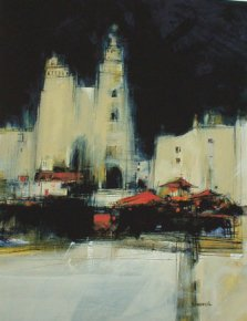 Spanish Market a limited edition print by James Somerville