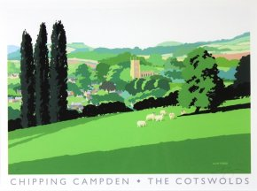 Chipping Campden a limited edition print by Alan Tyers