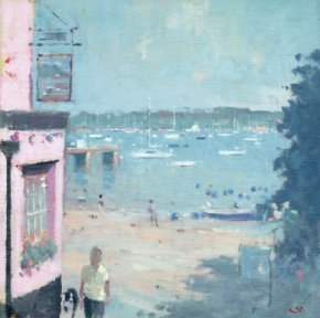 The Ferry Boat Inn, Dittisham a limited edition print by Stephen Brown