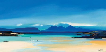 Buy Shoreline to Rum - art print by artist Pam Carter