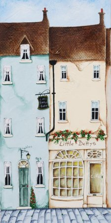 Buy Little Bettys - art print by artist Elaine Cooper