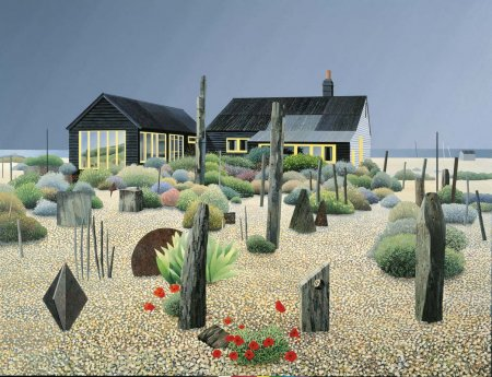 Buy Derek Jarmans Garden - art print by artist Michael Kidd