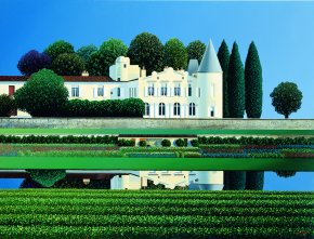 Lafite Rothschild a limited edition print by Michael Kidd