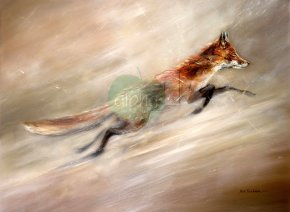 Foxtrot a limited edition print by Paul Tavernor