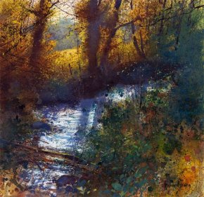 Autumn Contre-Jour a limited edition print by Richard Thorn