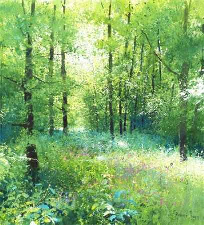 Buy Early in the Wood - art print by artist Richard Thorn