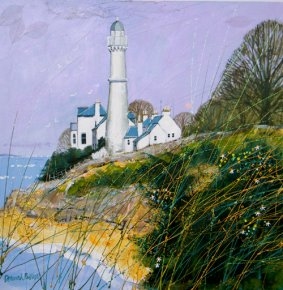 West Light Tayport a limited edition print by Deborah Phillips