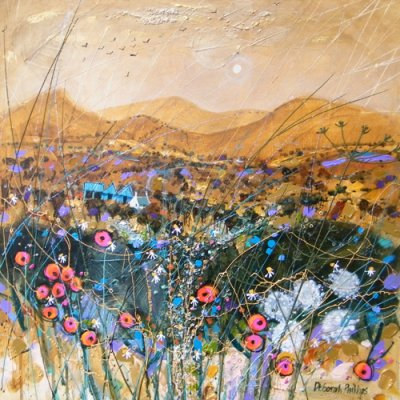 Cairngorm Gold - Limited edition print and art print by Deborah Phillips