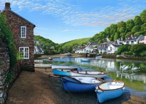 Hidden Harbour a limited edition print by Brett Humphries