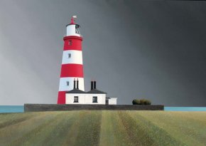 Happisburgh a limited edition print by Michael Kidd