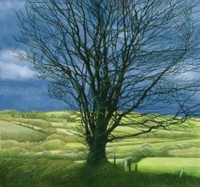 Sunlit Landscape a limited edition print by Annie Ovenden