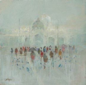 Afternoon San Marco a limited edition print by Janet Ledger