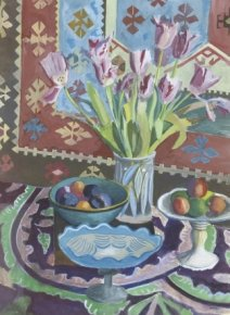 Still Life with Tulips a limited edition print by Paul Manousso