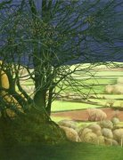 Limited edition prints and art prints by Annie Ovenden - View From The Hill