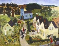 Scarecrow - limited edition print and art print by Anna Pugh