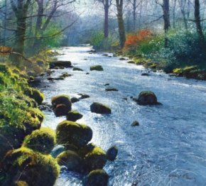 Silver River a limited edition print by Richard Thorn
