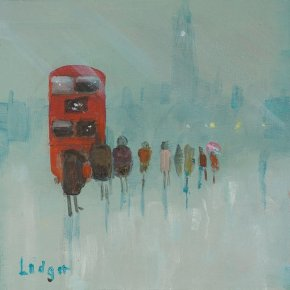 Westminster a limited edition print by Janet Ledger