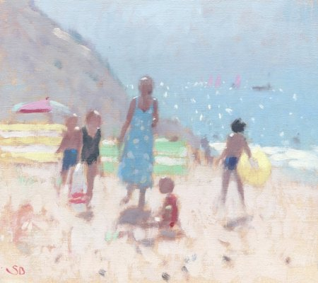Buy Holiday Sun - art print by artist Stephen Brown