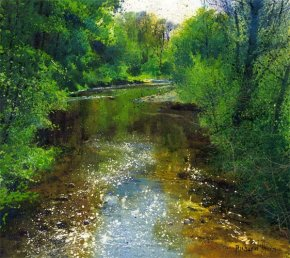 Quiet River a limited edition print by Richard Thorn