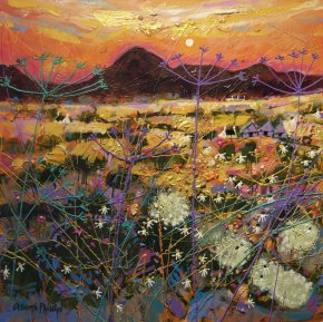Hot Fiery Sunset a limited edition print by Deborah Phillips